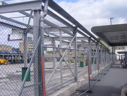 STEEL Structures FABRICATORS Fire Escape Evacuation Chute Company Security Hesco Bastions Barriers, Steel Towers, Bird Pigeon Control Spikes Fence Barriers, Solar Panels Mounting Frames, Gabions, Contractors, Suppliers, Exporters in UAE, Dubai, Abu Dhabi,