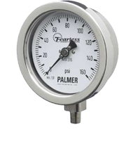 Palmer Fearless All Stainless Steel Gauges