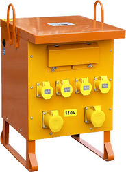 Site Transformer with Sockets & Breakers.