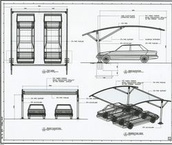 Cantilever Type Car Parking From Al Raways Tents Car Parking