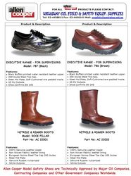 Exe Range Safety Shoes & Boots (Allen Cooper)