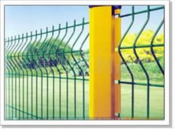 Profiled Welded Wire Mesh Barriers Project Fencing HERAS Fence Suppliers Contractors Fencing Companies in UAE Dubai Abu Dhabi Al Ain Oman Qatar Iran Africa