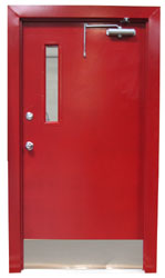 HOLLOW METAL DOORS & FRAMES - FIRE RATED