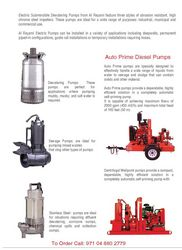DEWATERING PUMP RENTAL