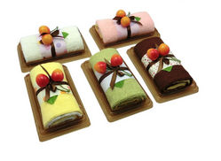 Unique Folded Cake Hand Towel Treats