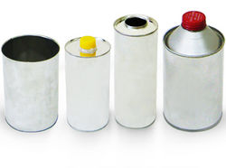 Cylindrical cans for lubricants