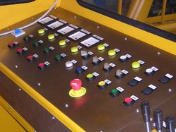 CONTROL PANEL FOR DREDGING SYSTEM
