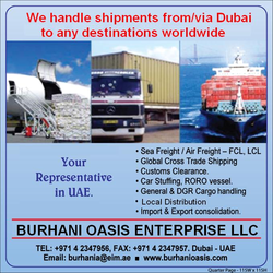 Cross-stuffing service of container in Dubai
