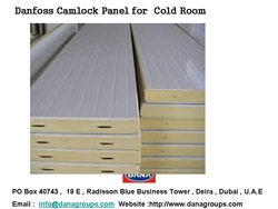 COLD ROOM PANELS , CAMLOCK PANELS IN UAE , AFRICA