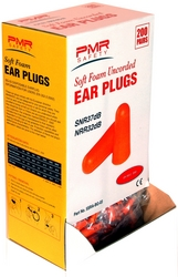 SOFT FOAM UNCORDED EAR PLUGS  PMR SAFETY, USA