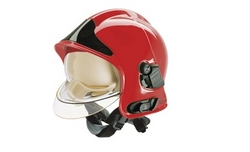 FIREMAN HELMET (MODEL: F1SF) MSA, USA