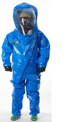 GAS-TIGHT CHEMICAL PROTECTIVE SUIT LAKELAND, USA