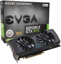 Superclocked EVGA GTX 970 ACX 2.0