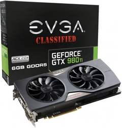 EVGA Geforce GTX 980 Ti 6 GB Classified Edition