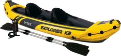 Intex Explorer K2 Inflatable Kayak and Paddles
