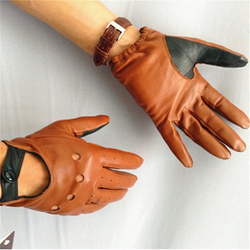 Driving Gloves Genuine Leather