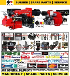 FBR Burner Spare parts and Service UAE Gulf