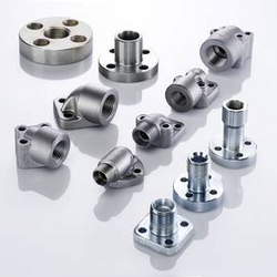 Gear Pump Flanges with 24° Cone Connector
