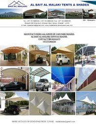CAR PARK SHADES SUPPLIERS IN UAE