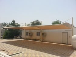 REAL ESTATE BUILDING CAR PARKING SHADES IN SHARJAH