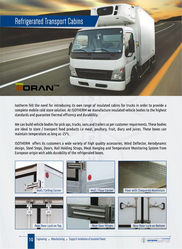 Refrigerated Transport Cabins