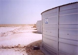 Tanks Providing Water For Labour Camp UAE