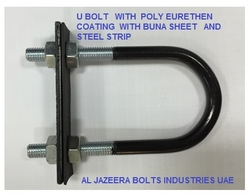 U BOLTS POLY URETHANE COATED IN UAE