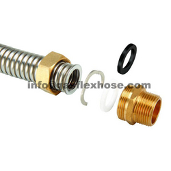 Gas flex hose - gas flex hose connector 50% heavie