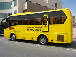 School Students Transfer By Bus in uae