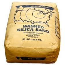 Silica Sand in Bag