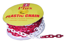 Safety Chain Red & White