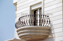 Wrought Iron Security Bars For Balcony