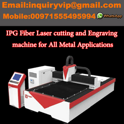 Laser Machine to Cut and Engrave All Metal