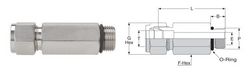Long Male Connector