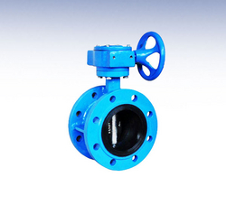 Double Flange Butterfly Valve UAE