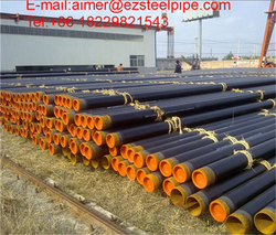 Seamless black carbon API 5 L steel tube