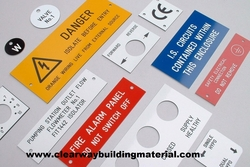 All Types Of Electrical & Safety  Engraving