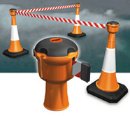 Crowed Control Belt For Traffic Cone