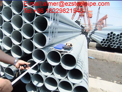 Galvanized Steel welded pipes