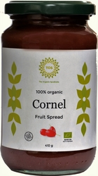 Organic Cornelian Cherry fruit spread