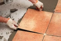 Tile Fixing Works