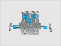 Five Valve Manifold Direct Mount H Type