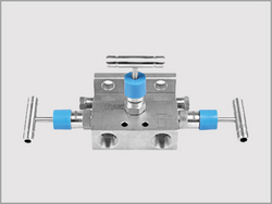 Three Valve Manifold Direct Mount T Type