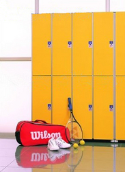 HPL Waterproof Gym Locker