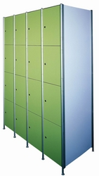 Firproof and Waterproof Changing Room or Supermarket HPL Locker