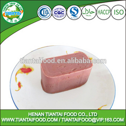 High quality African canned food canned beef luncheon meat