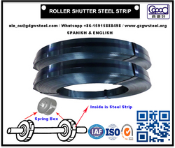 Roller Shutter Steel Strip for Roller Shutter Spring Door Garage