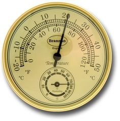 DIAL THERMO HYGROMETERS