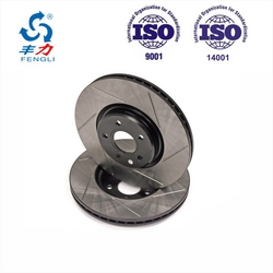 Disa Production Line Custom Make Casting Brake Disc for all Kinds of Cars