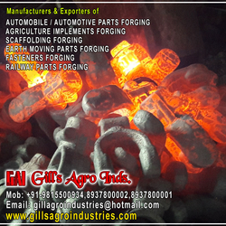 Automobile Parts Forgings
